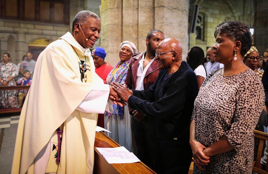Christmas Celebrations Desmond Tutu South Africa