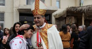 Christmas celebrations Catholic church Iraq