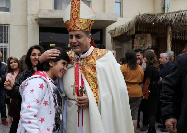 Christmas celebrations Catholic church Iraq