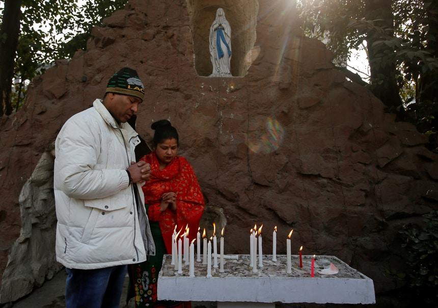 Christmas celebrations India