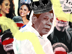 Duterte crediting Miss Universe