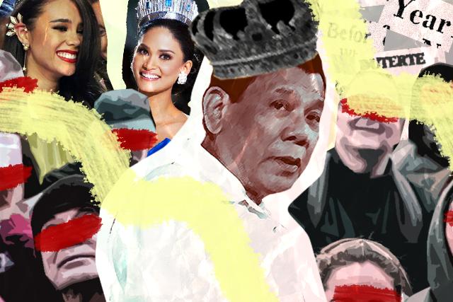 Duterte crediting Miss Universe