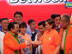 Joseph Estrada and Sara Duterte
