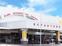 Facade of Clark International Airport