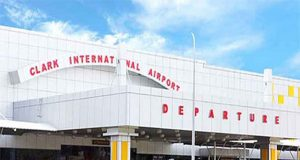 Facade of Clark International Airport