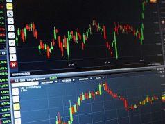 File photo of stock market graph