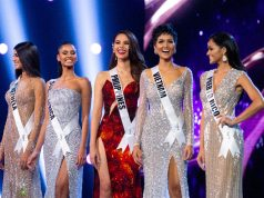 Catriona Gray in Miss Universe Top 5