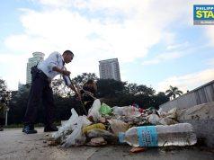 Luneta Park trash Interaksyon
