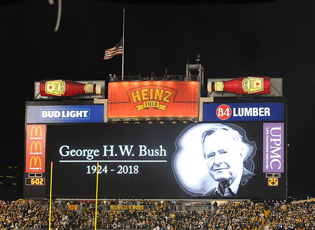 Former U S President George H W Bush Remembered For Role