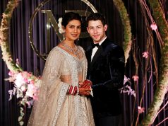 Bollywood actress Priyanka Chopra and her husband singer Nick Jonas