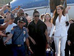 Miss Universe 2018 Gray arrives in Pasay City