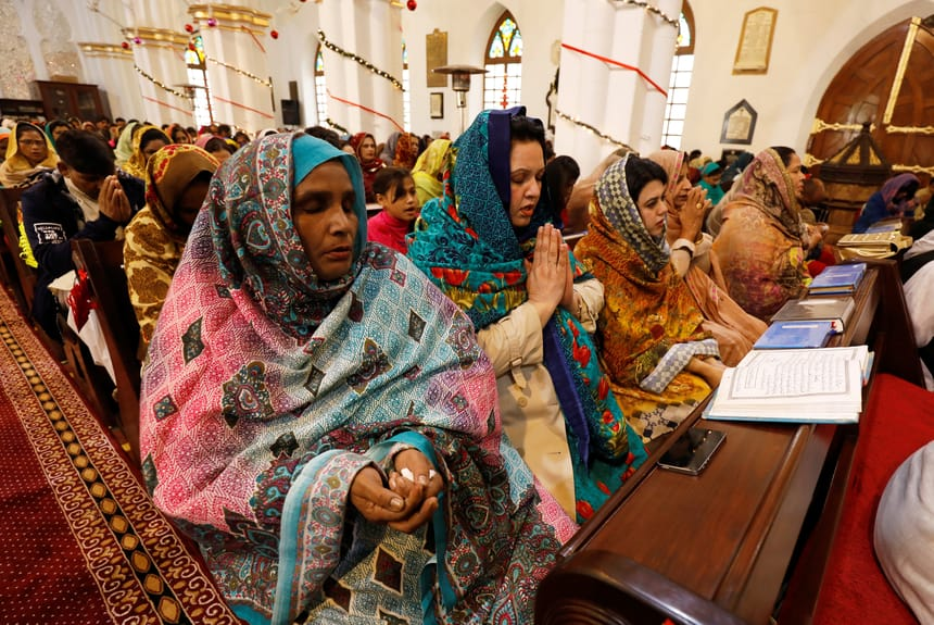 Pakistan Christmas day celebration