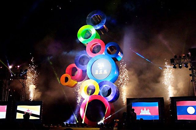 SEA games countdown
