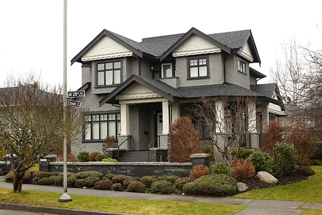A home owned by the family of Huawei CFO Meng Wanzhou