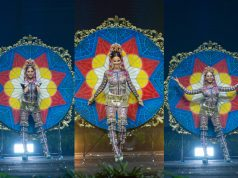 Catriona Gray's national costume at Miss Universe 2018