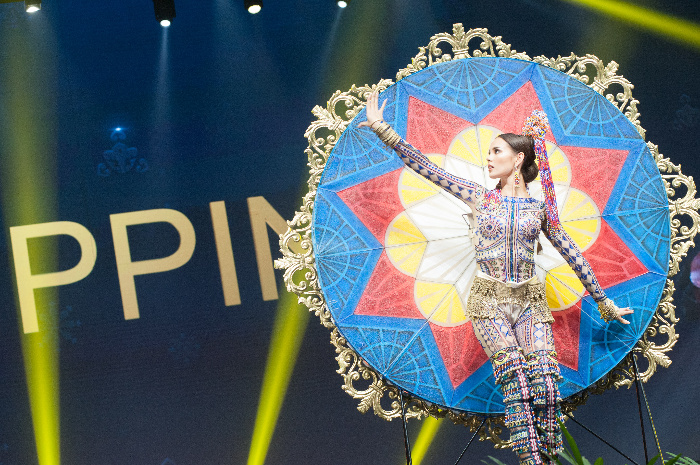 Catriona Gray's national costume
