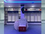 Azkals locker room Dubai Interaksyon