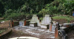 Bukit Brown Cemetery graves