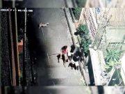 CCTV footage of students