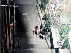 CCTV footage of students