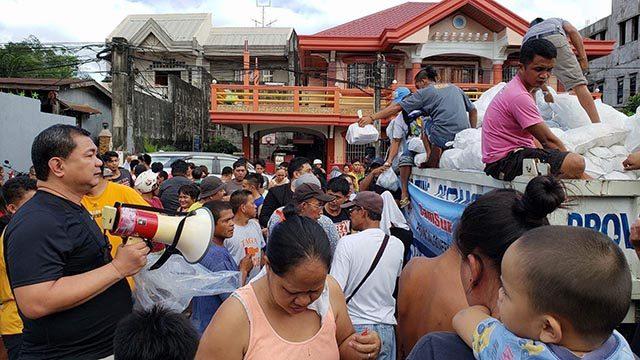 Camarines Sur relief operations Interaksyon