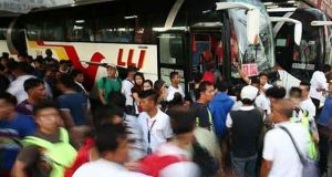 Cavite bus terminal Interaksyon