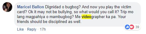Comment 2 for Ateneo bullying incident follow-up