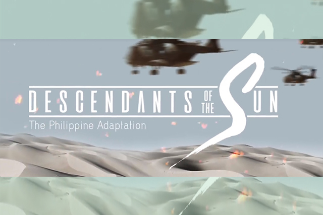 Filipino remake of popular Korean drama 'Descendants of the Sun