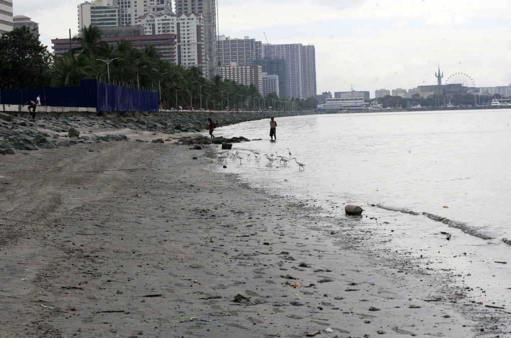 Conflicting statements on reclamation projects in Manila Bay
