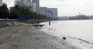 Manila Bay Cleanup Garbage free seashore