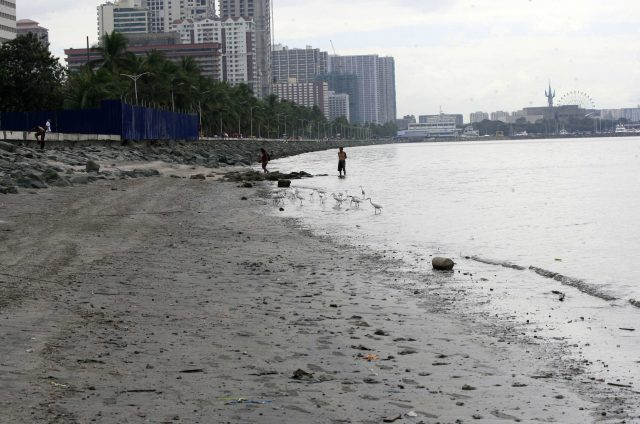 Manila Bay Cleanup Garbage free seashore