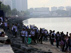 Manila Bay clean up drive