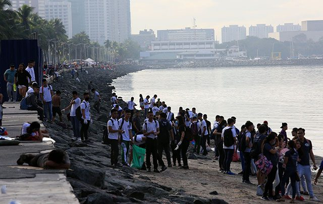 Manila Bay clean up drive