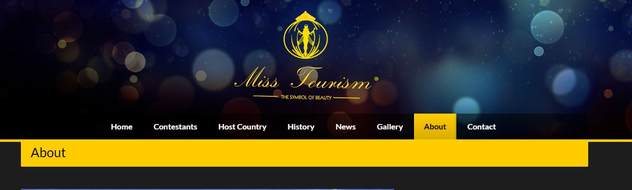 Miss Tourism Website