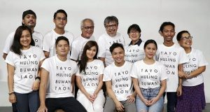 Part of the cast and crew of Tayo, Sa Huling Buwan ng Taon Interaksyon