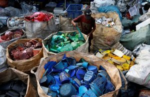 Recycling center in Jakarta