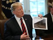 U.S. President Trump hosts roundtable discussion on border security at White House in Washington