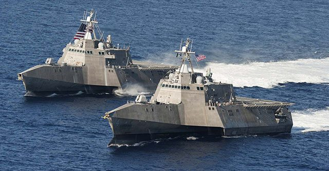 United States navy warships