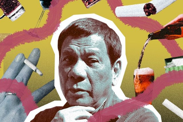 Alcohol and tobacco Interaksyon