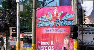taken down poster of Imee Marcos Interaksyon