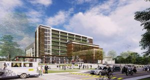 Architectural render of UP Faculty Center