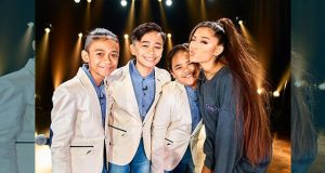 Ariana Grande TNT boys Interaksyon edited