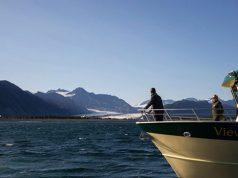 Former US President Obama surveys mountains