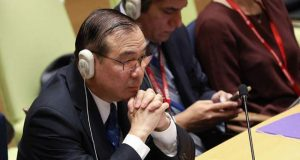 Teddy Locsin in the United Nations