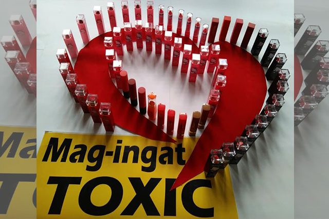 Toxic lipsticks Interaksyon