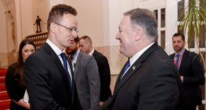 U.S. Secretary of State Mike Pompeo visits Hungary