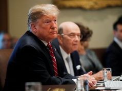 U.S. President Trump holds a Cabinet meeting at the White House in Washington