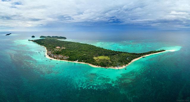Island in Sabah