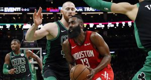 NBA: Houston Rockets at Boston Celtics