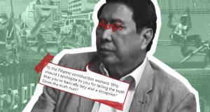 Ramon Tulfo vs labor groups